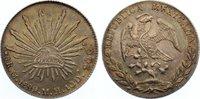 8 Reales 1889 Mexiko Zweite Republik seit 1867. feine Patina, vorzüglic... 145,00 EUR  +  4,50 EUR shipping
