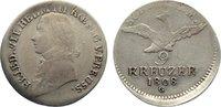 9 Kreuzer 1808  G Brandenburg-Preußen Friedrich Wilhelm III. 1797-1840.... 110,00 EUR  +  4,50 EUR shipping