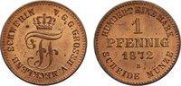 Cu Pfennig 1872  B Mecklenburg-Schwerin Fr...