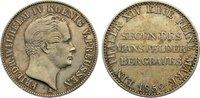 Bergbautaler 1852  A Brandenburg-Preußen Friedrich Wilhelm IV. 1840-186... 100,00 EUR  +  4,50 EUR shipping