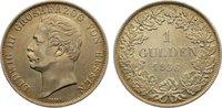 Gulden 1856 Hessen-Darmstadt Ludwig III. 1848-1877. kl. Kratzer, sehr s... 95,00 EUR  +  4,50 EUR shipping