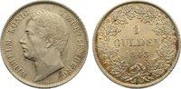 Gulden 1843 Württemberg Wilhelm I. 1816-1864. fast vorzüglich  65,00 EUR  +  4,50 EUR shipping