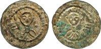 Brakteat 1107-1109 Halle, erzbischöflisch ...