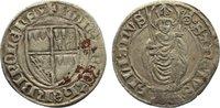 Schilling 1443-1455 Würzburg, Bistum Gottf...
