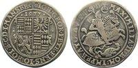 Taler 1577  CG Mansfeld-vorderortische Lin...