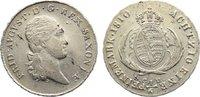 1/6 Taler 1810 Sachsen-Albertinische Linie...