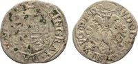 3 Kreuzer 1606-1617 Salm-Dhaun Vormundscha...