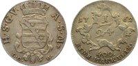 1/24 Taler 1762 Sachsen-Gotha-Altenburg Fr...