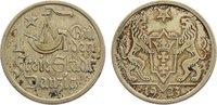 1 Gulden 1923 Danzig  kl. Randfehler, sehr...