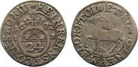 1/24 Taler 1672  IB Stolberg-Wernigerode H...