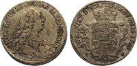 2/3 Taler 1755  FS Sachsen-Eisenach Friedr...