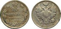 20 Kopeken 1820 Russland Alexander I. 1801...