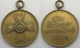 Medaille 1939 Drittes Reich Für Kriegsverd...