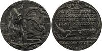 um 1916 Deutschland Spottmedaille auf Eng...