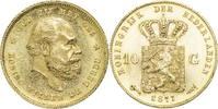 Niederlande 10 Gulden Willem III.