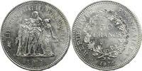 50 Francs 1977 Frankreich Herkulesgruppe V...
