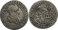 Viergröscher 1568 Polen Sigismund August  ...