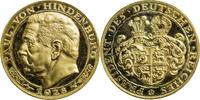 Medaille 1928 Deutschland - Weimar Paul vo...