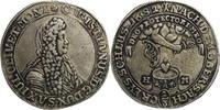 2/3 Taler 1682 Sachsen-Eisenberg RR! Herzo...