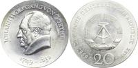 20 Mark 1969 DDR 220. Geburtstag J.W. v. G...