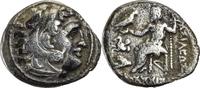 Drachme 299-296 v.C Thracia Lysimachos / M...