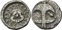 Drachme 4. Jhd.v.Ch Thrakien Apollonia Pon...