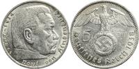 5 Reichsmark 1938 Deutschland - 3. Reich J...
