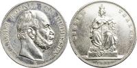 1 Taler 1871 Preussen Siegestaler gutes ss