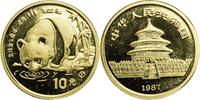10 Yuan 1987 China Panda PP