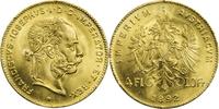 4 Florin /10 Franken 1892 Österreich Franz...