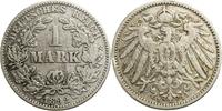 1 Mark 1892 Deutschland - Kaiserreich J (H...