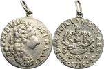 8 Skilling 1715 Dänemark Frederik IV. (169...
