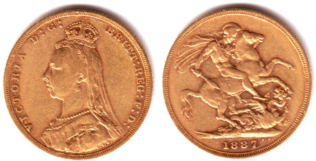 Briefe Queen Victoria : Sovereign m australien queen victoria mit