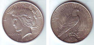 1 Dollar 1924 Usa Silbermünze Peace Spl Ma Shops