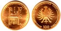 100 Euro 2003 D Deutschland 1/2 Unze Goldm...