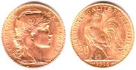 20 Francs 1898-1914 Frankreich Marianne/ G...
