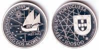 Portugal 100 Escudos Segelschiff - Entdeckung der Azoren