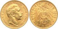 20 Mark 1912 J Preussen Kaiser Wilhelm II....