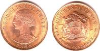 50 Pesos 1968 Chile Libertad prägefrisch