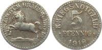 5 Pfennig 1918 Braunschweig Notgeld des He...