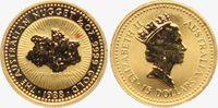 15 Dollar 1988 Australien 1/10 Gold-Unze -...