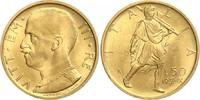 50 Lire 1931-IX  R Italien Vittorio Emanue...