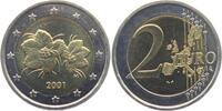 2 Euro 2001 Finnland Moltebeere bankfrisch