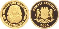 50 Shilling 2002 Somalia Goldene Totenmask...