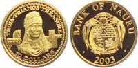 10 Dollar 2003 Nauru Schatz des Priamos in...