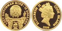 10 Dollar 2006 Cook Inseln Kopf des Apache...