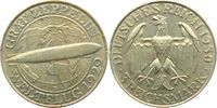 3 Mark 1930 D Weimar Zeppelin f.vz