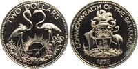 2 Dollar 1976 Bahamas Flamingos - Vögel PL