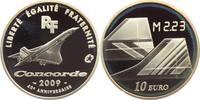 10 Euro 2009 Frankreich Flugzeuge - Concor...