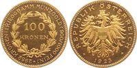 100 Kronen 1923 Österreich 100 Goldkronen ...